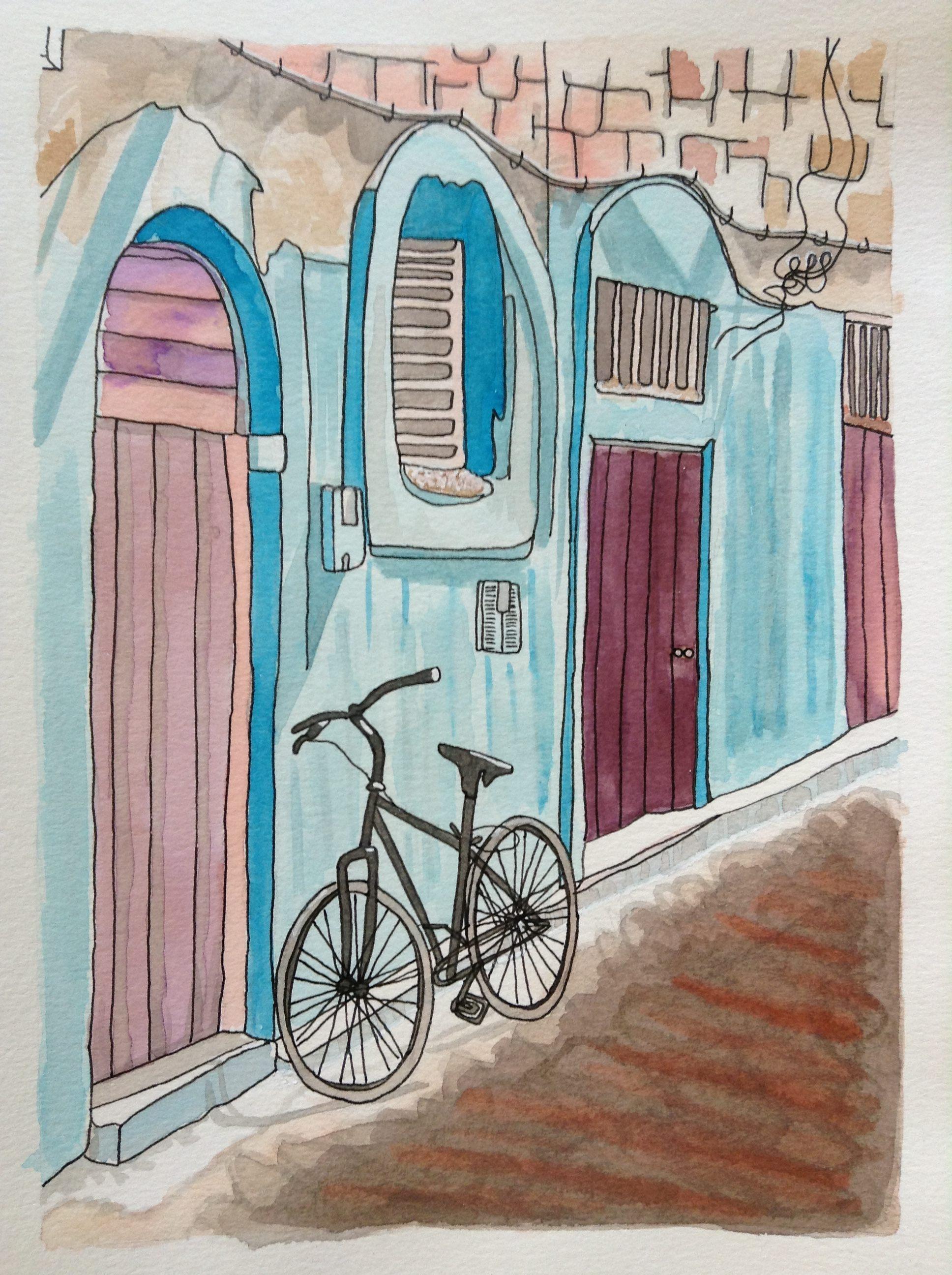 Porte, ville bleue