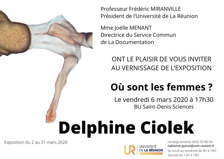 Vernissage 6 mars 2020
